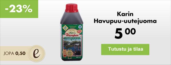 Karin Havupuu-uutejuoma on tutkittu luonnon antioksidantti länsirannikon männystä.