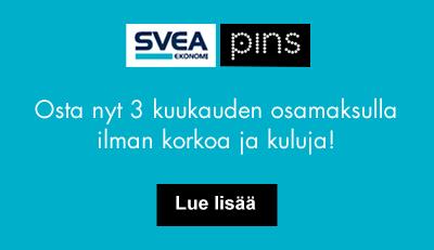 Svea Osamaksu (Maksa 3 kuukauden osamaksulla)  31.8.2016 asti ilman korkoa ja kuluja!